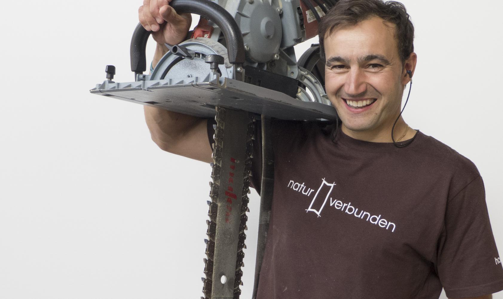Christoph Lutz - Mitarbeiter bei holzius Vollholzhaus