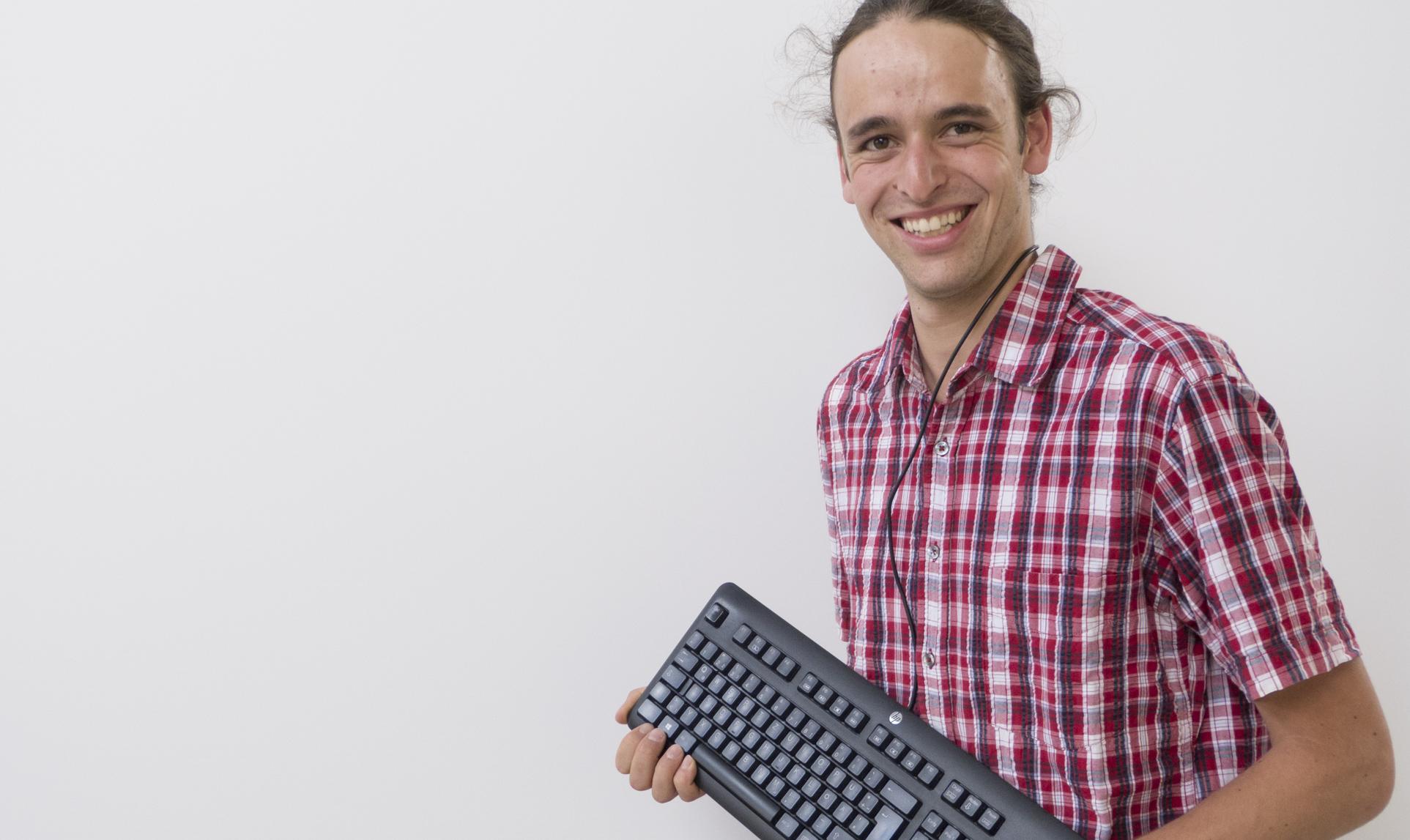 Daniel Paris - Mitarbeiter bei holzius Vollholzhaus