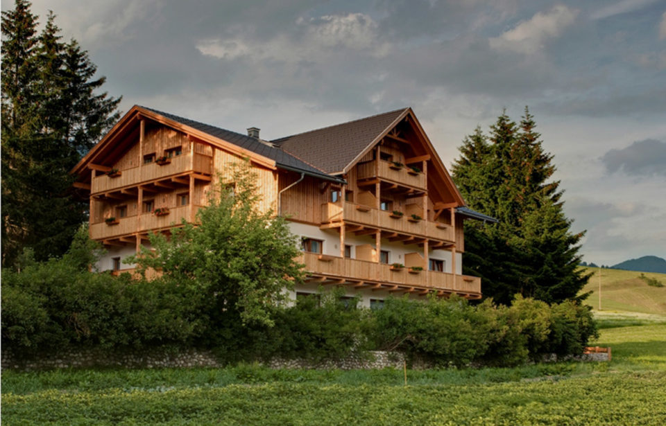 Garni gebaut mit leim- und metallfreien Massivholzelementen