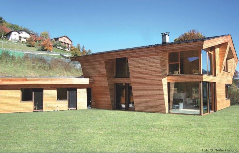 Architekturjournal stellt holzius Bauprojekt vor - Arch. Christine Pfeifer