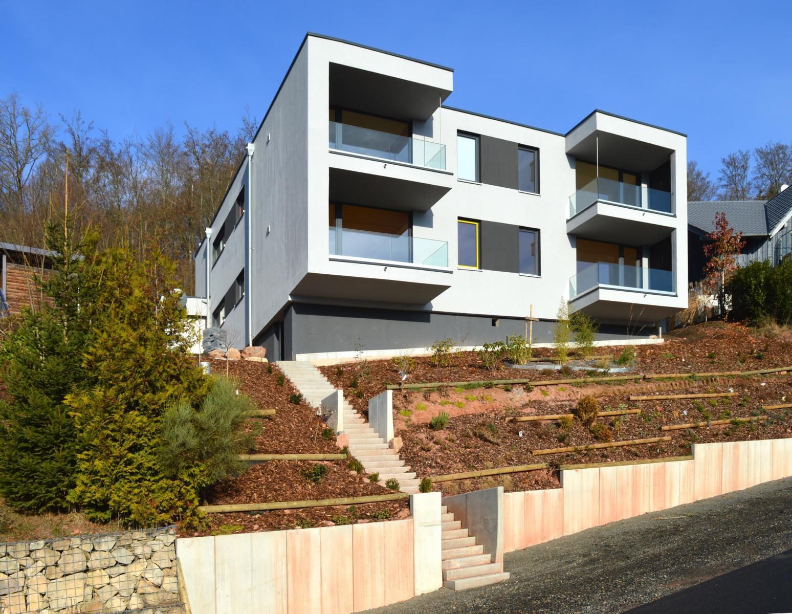 Büro und Mehrfamilienhaus Bad Brückenau - holzius