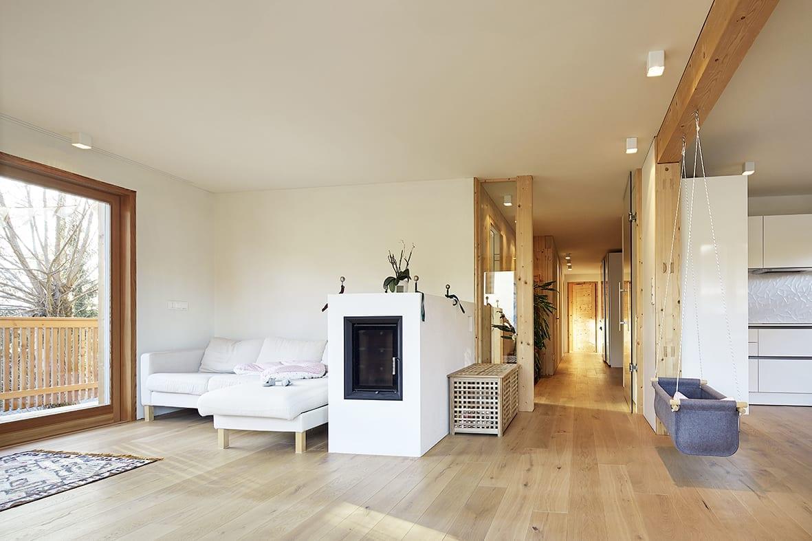 Mehrfamilienhaus in Toblach - gebaut mit holzius Massivholzelementen