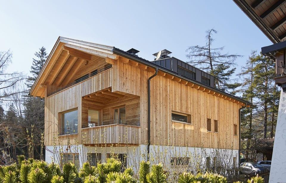 Casa puro legno holzius a Dobbiaco - Alto Adige