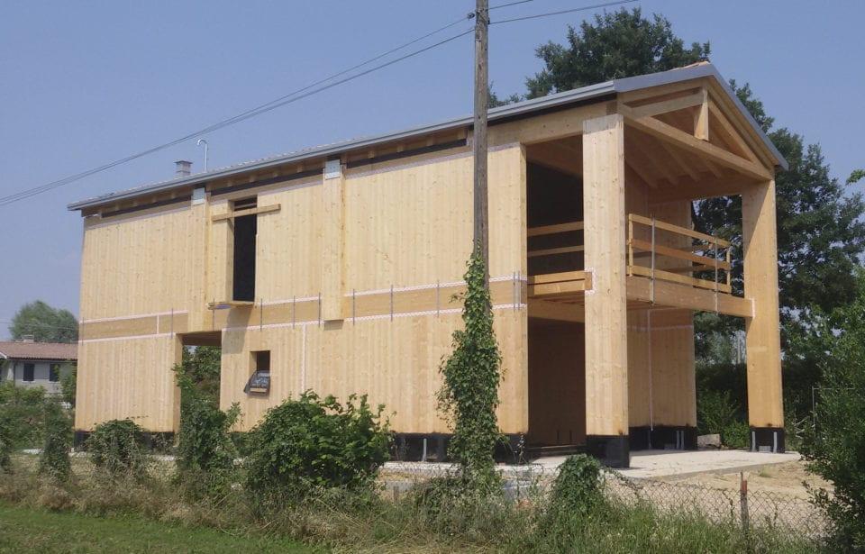 Casa in puro legno holzius a Zero Branco - Treviso
