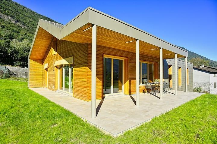 holzius casa puro legno - costruzione massiccia senza colla e chiodi